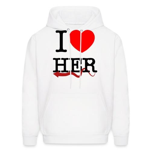 I love Her - Men's Hoodie