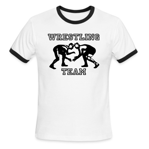 Wrestling Team Wrestlers - Men's Ringer T-Shirt