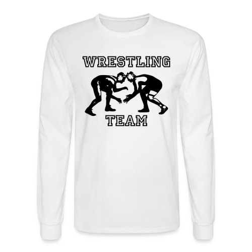 Wrestling Team Wrestlers - Men's Long Sleeve T-Shirt