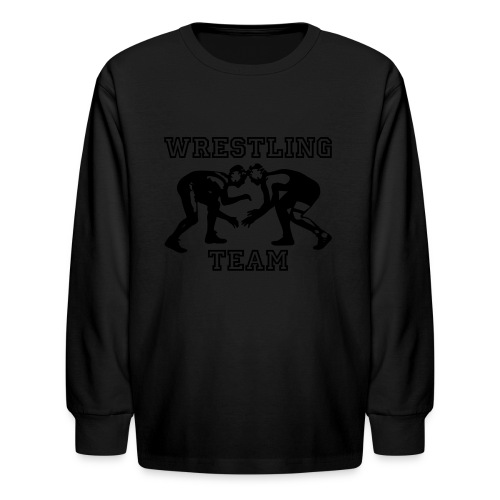 Wrestling Team Wrestlers - Kids' Long Sleeve T-Shirt