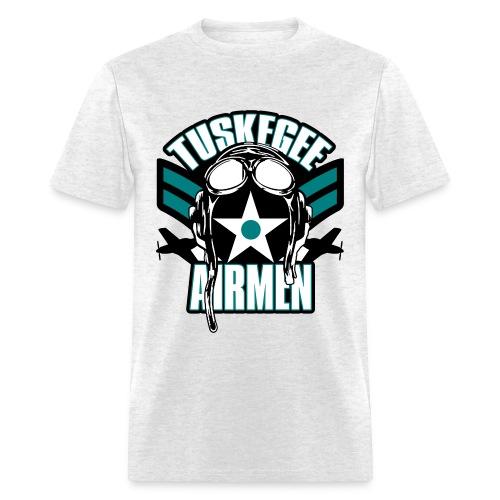 Tuskegee Airmen- Teal - Men's T-Shirt