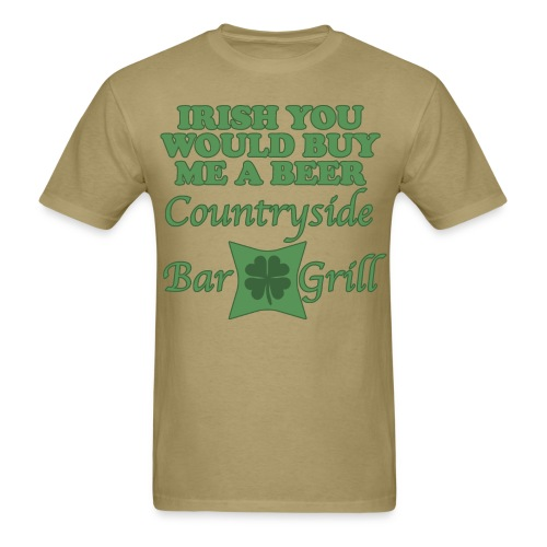 Broke Irishman - Men's T-Shirt
