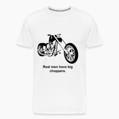 Chopper - generic home build hardtail chop T-Shirts