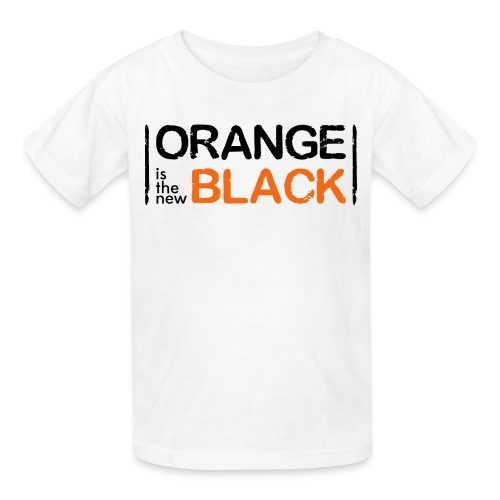 Orange is the new black  - Kids' T-Shirt