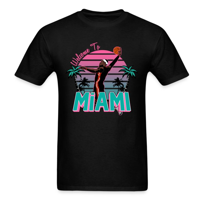Welcome to Miami South Beach Shirt - Men's T-Shirt