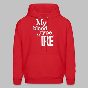 My Blood Type Is Irish - Men's Hoodie