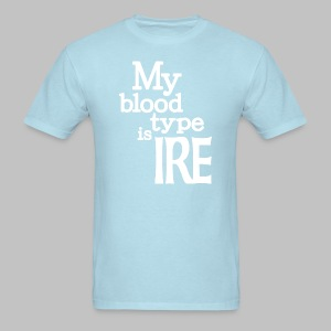 My Blood Type Is Irish - Men's T-Shirt