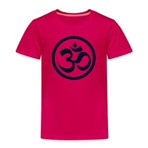 MINI Yogi w/back design w/Black Glitter - Toddler Premium T-Shirt
