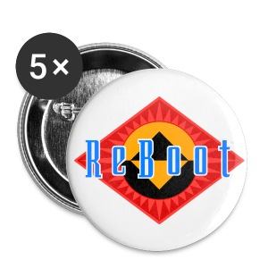 ReBoot Button 56mm - Large Buttons