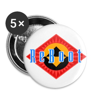 ReBoot Button 25mm - Small Buttons