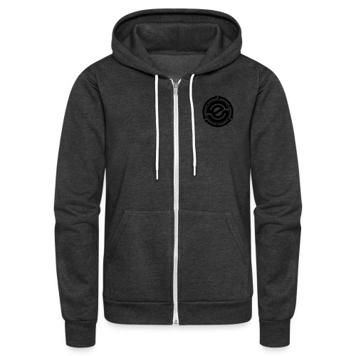 Unisex Fleece Zip Hoodie by American Apparel - Unisex Fleece Zip Hoodie