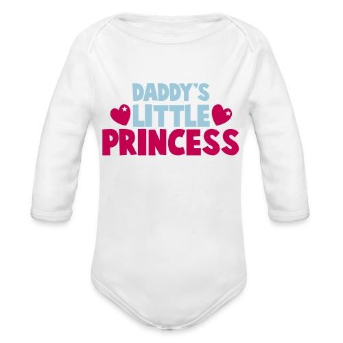 DADDY LIL PRINCESS - Organic Long Sleeve Baby Bodysuit
