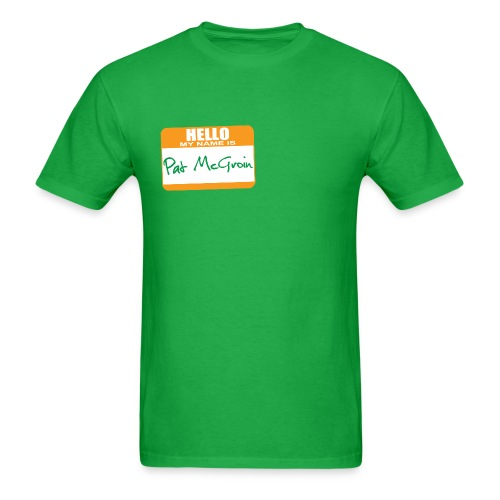 Pat McGroin - Men's T-Shirt
