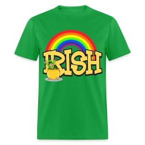 Irish Rainbow - Men's T-Shirt