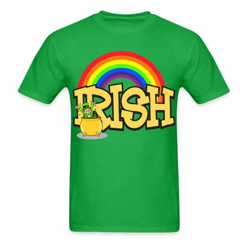 Irish Rainbow - Men's T-Shirt