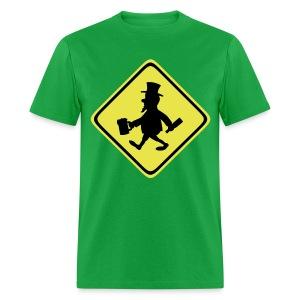 Leprechaun Walking - Men's T-Shirt
