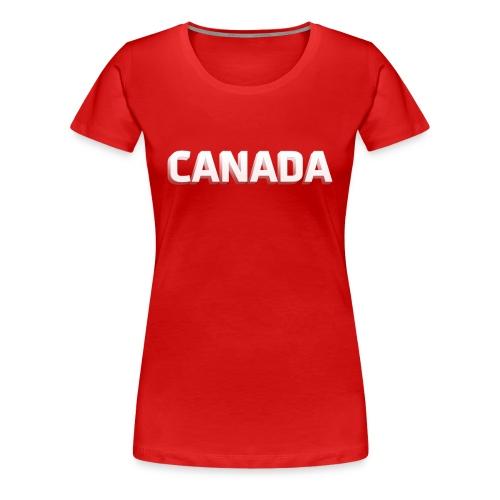 Canada Shirt - Womens - Women's Premium T-Shirt
