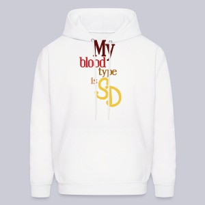 My Blood Type is SD - Men's Hoodie