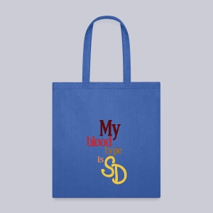 My Blood Type is SD - Tote Bag
