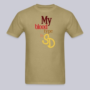 My Blood Type is SD - Men's T-Shirt