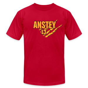 Chris Anstey claws - Men's T-Shirt by American Apparel