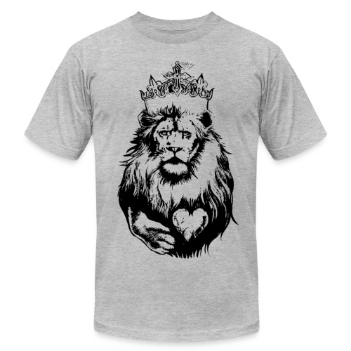 King of The Pride- Men's Graphic T-shirt - Men's Fine Jersey T-Shirt