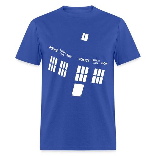 The Tardis- Men's Graphic T-Shirt  - Men's T-Shirt