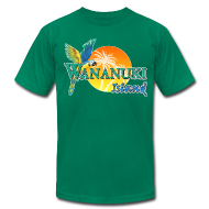 T-Shirts ~ Men's T-Shirt by American Apparel ~ His Wananuki Island Day