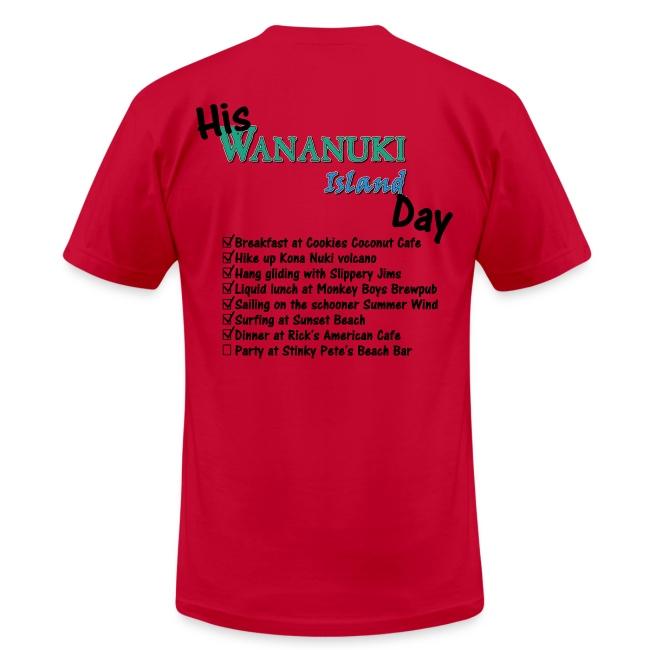 His Wananuki Island Day