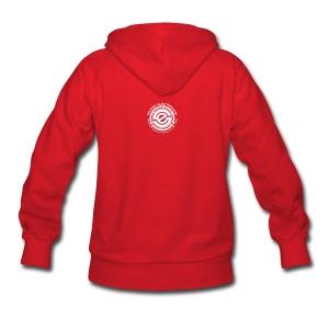 Women's Hooded Sweatshirt - SE 45 on Back - Women's Hoodie