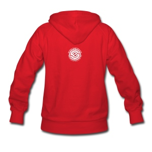 Women's Hooded Sweatshirt - SE 45 on Back - Women's Hoodie