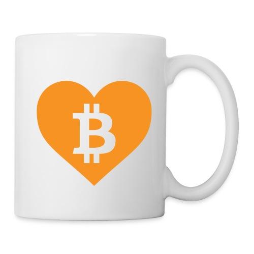 Bitcoin Love Mug - Coffee/Tea Mug