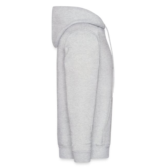 Men's Hooded Sweatshirt - SE 45 Logo with Text on Back