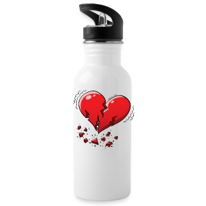 Heartquake Bottles & Mugs - Water Bottle
