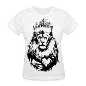 The Crowned Lion KIng - Women's T-Shirt