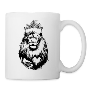 The Crowned Lion King Mug  - Coffee/Tea Mug