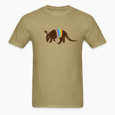 armadillo texas turkey hillbilly rainbow T-Shirts