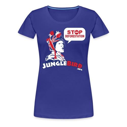 white_bgr_bubble - Women's Premium T-Shirt