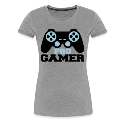 PRO GAMER WOMENS T SHIRT - Women's Premium T-Shirt