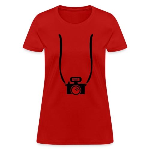 Camera T-Shirt - Women's T-Shirt