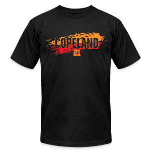 Lanard Copeland slash - Men's T-Shirt by American Apparel