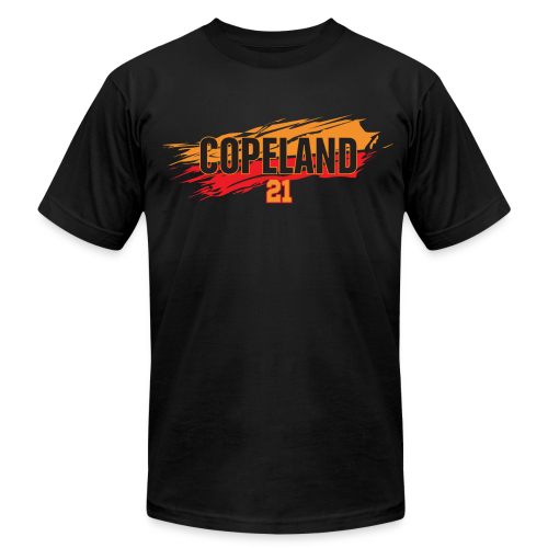Lanard Copeland slash - Men's Fine Jersey T-Shirt