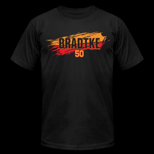 Mark Bradtke slash - Men's Fine Jersey T-Shirt