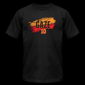 Andrew Gaze slash - Men's Fine Jersey T-Shirt