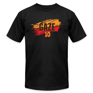 Andrew Gaze slash - Men's T-Shirt by American Apparel