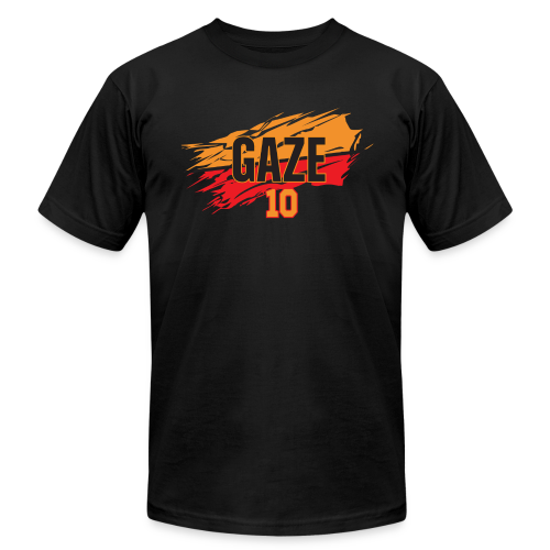 Andrew Gaze slash - Men's Fine Jersey T-Shirt