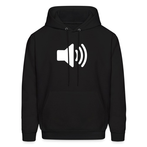 Male Loud Volume Shirt! - Men's Hoodie