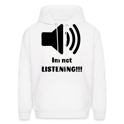 full volume mens jumper - Men's Hoodie