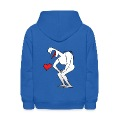 Man Vomiting the Love Heart Sweatshirts