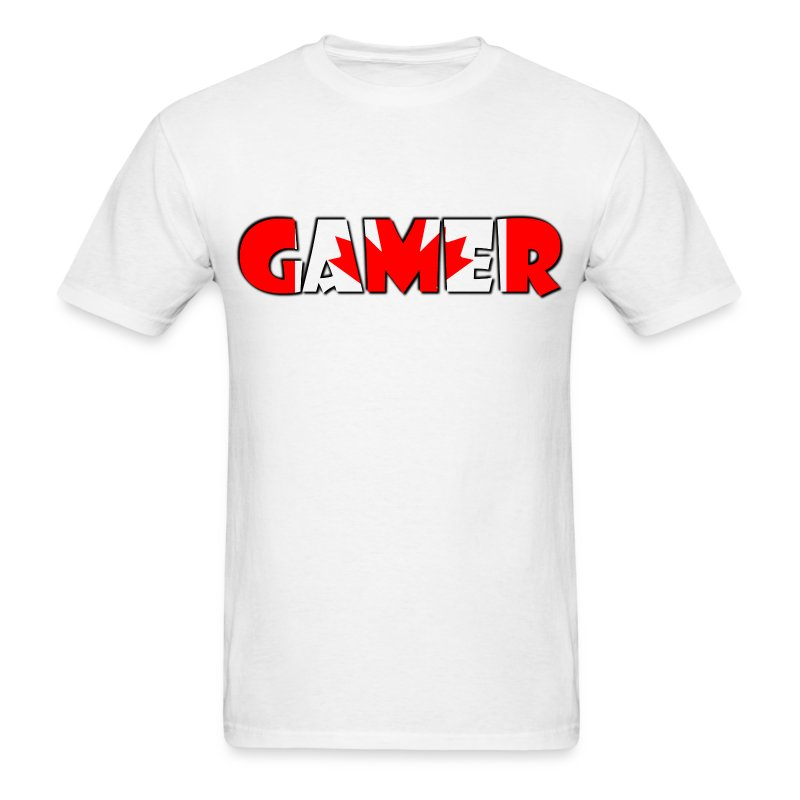 Canada Gamer - Men's T-Shirt